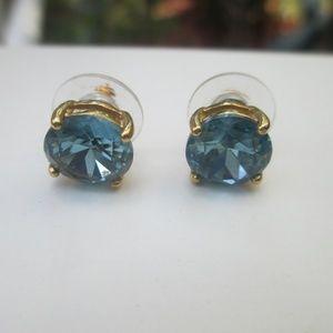 Kate Spade blue stud earrings